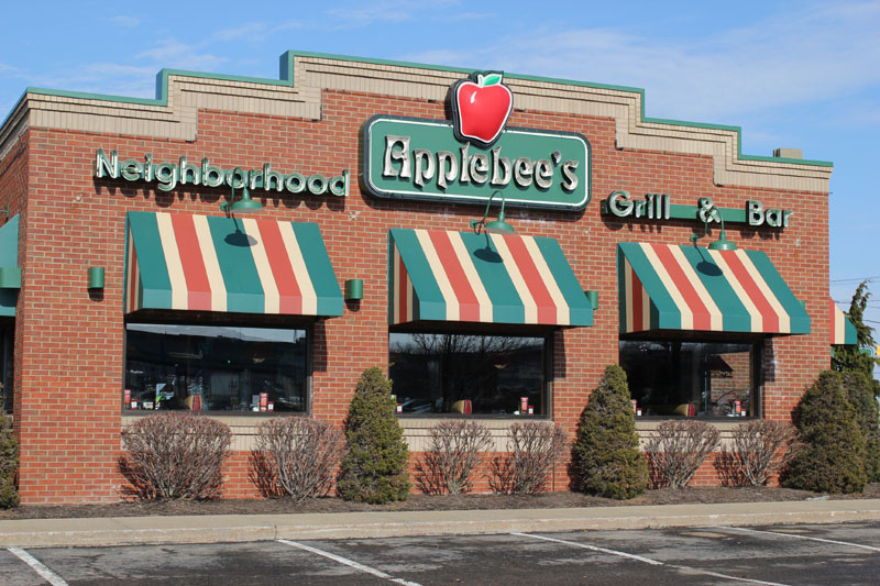 Commercial Corporate Roofing Project, Applebees Restaurant by Alex Roofing Company, Inc.