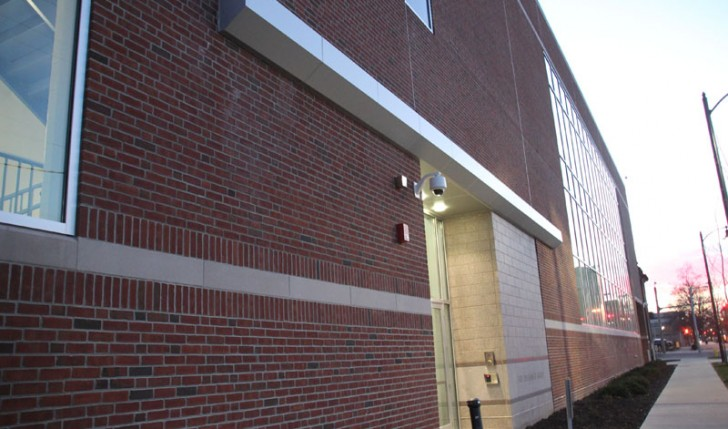 Erie Insurance New Technology and Learning Center, Erie, PA - PVC Roofing, Insulated Metal Wall Panels and Aluminum Composite Panels by Alex Roofing Company, Inc.