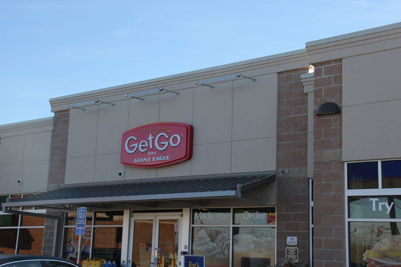 New Get Go Store, Harborcreek, PA - TPO Roofing and Metal Roofing by Alex Roofing Company, Inc.