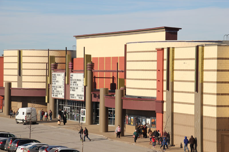 Tinseltown Theaters, Erie, PA - TPO Roofing by Alex Roofing Company, Inc.