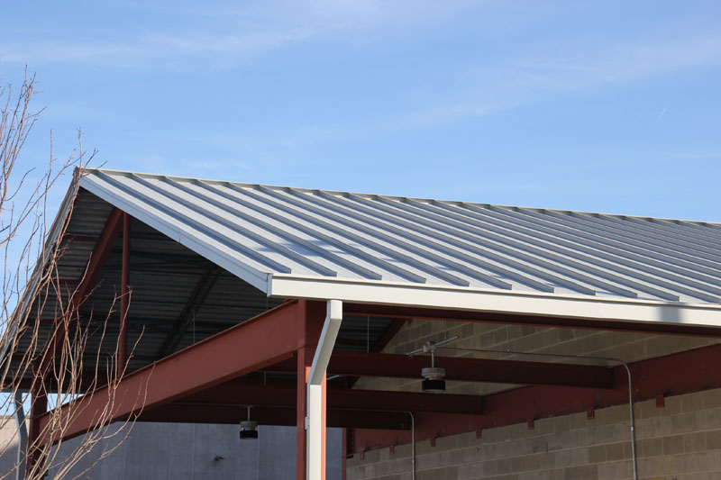 Lord Corporation New Chemical Storage Buildings, Erie, PA - Standing Seam Metal Roof by Alex Roofing Company, Inc.