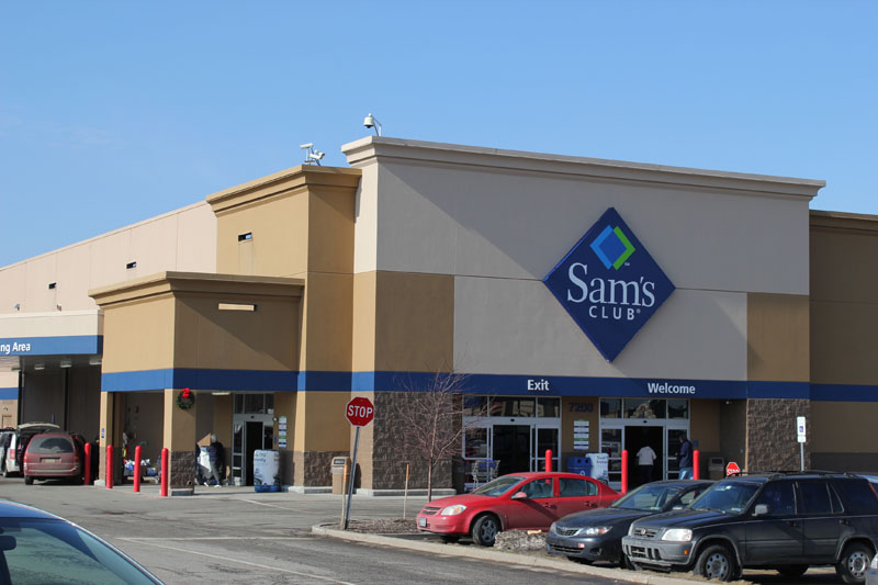 Corporate Commercial Roofing Project, Sam's Club Retail Store by Alex Roofing Company, Inc.
