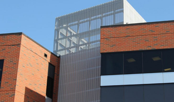 Specialty Architectural Product Project, Screen Wall Installation by Alex Roofing Company, Inc.