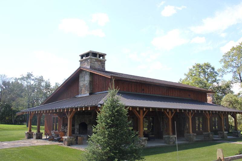 Country Style standing seam metal roof system by Alex Roofing Company, Inc.