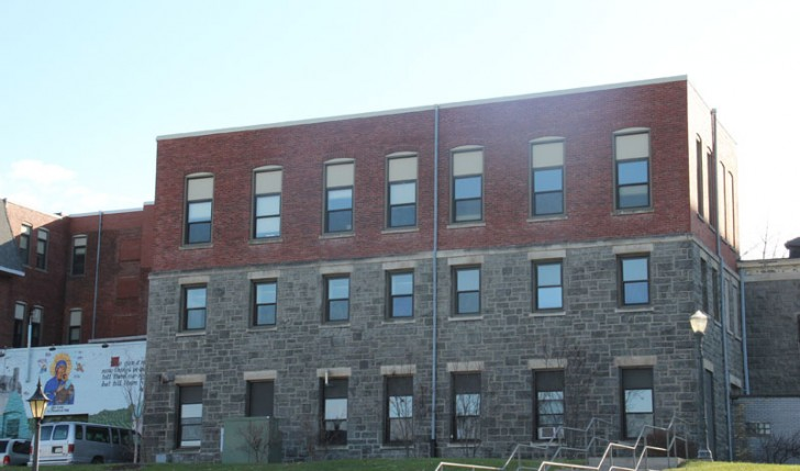 Commercial Roofing Project Mercyhurst College Miller Hall Erie, PA by Alex Roofing Company, Inc.