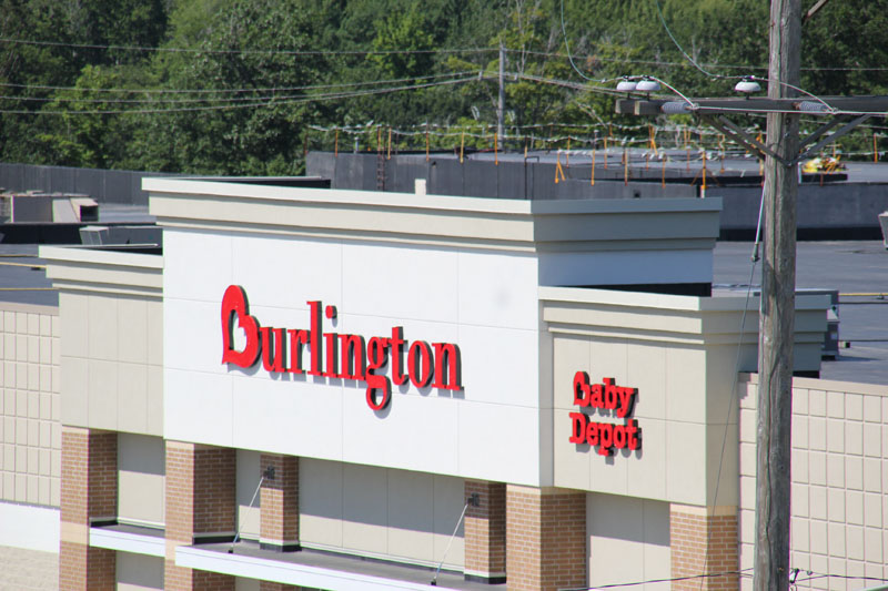 Commercial Roofing Project Burlington Coat Factory Erie, PA by Alex Roofing Company, Inc.