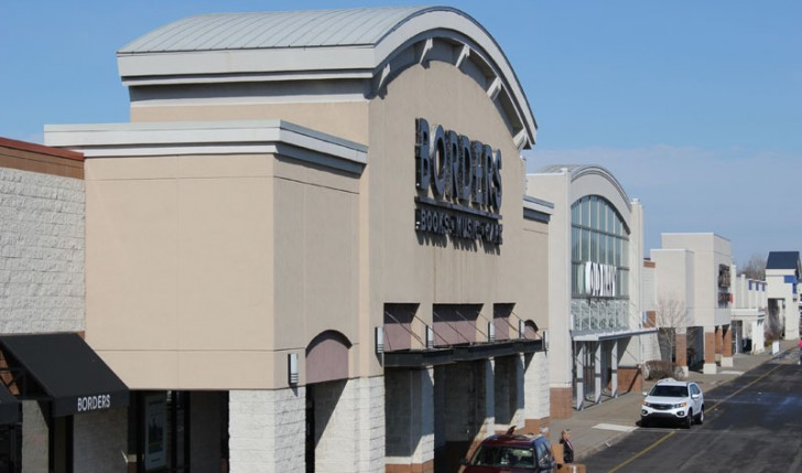 Commercial Roofing Project, Borders Book Store by Alex Roofing Company, Inc.