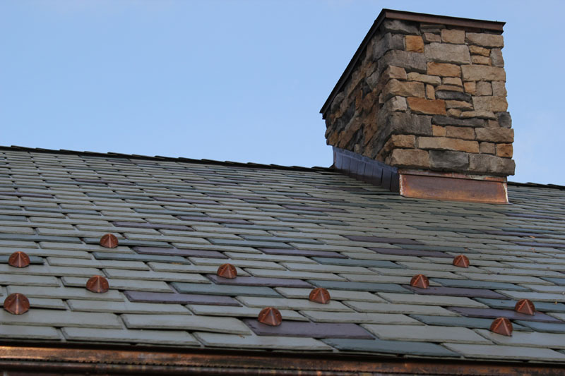 Residential Roofing Project, Slate Shingles by Alex Roofing Company, Inc.