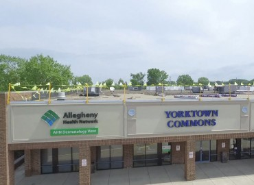 Yorktown Centre Roof Project by Alex Roofing Company, Inc.